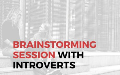 4 Tips On Brainstorming Session With Introverts