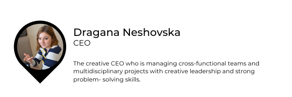 Dragana CEO banner hire young people